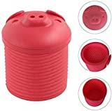 Bacon Grease Container With Strainer Bin Bacon Grease Strainer And Collector Of Silicone Enamel On Steel Bacon Grease Can Best For Storing Fats For Ke