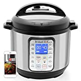 Instant Pot Smart WiFi 8-in-1 Electric Pressure Cooker, Sterilizer, Slow Cooker, Rice Cooker, Steamer, Saute, Yogurt Maker, Cake Maker, and Warmer, 6 Quart, 13 One-Touch Programs